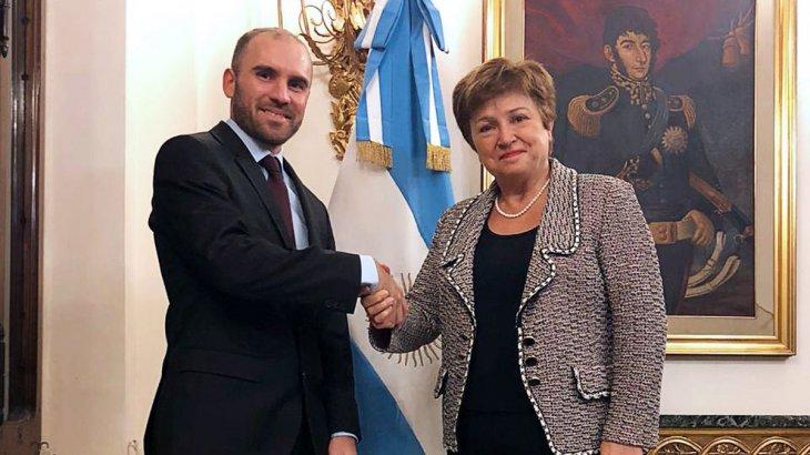 DEUDA- FMI: Guzmán se reunió con Georgieva