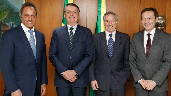 Bolsonaro insiste a los cancilleres para que pongan fecha de reunión con Fernández