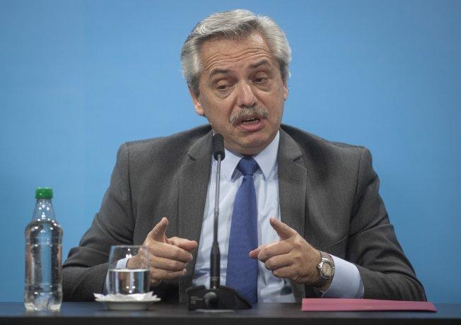 """Tras las criticas: El presidente Alberto Fernández defendió el aumento a los jubilados y dijo que hay quienes quieren """"imponer falsa idea de ajuste"""""""