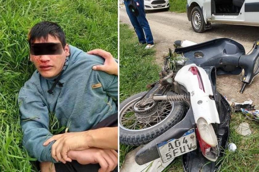 En Tafi Viejo, vecinos detuvieron a motochorro