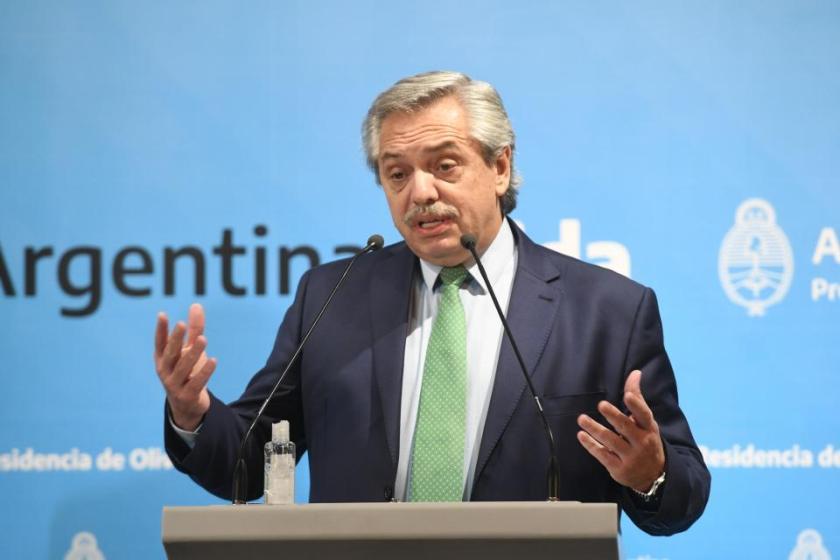 HISTORICO: Cuarentena total desde la medianoche y hasta el 31 de marzo, lo dispuso el presidente Fernandez
