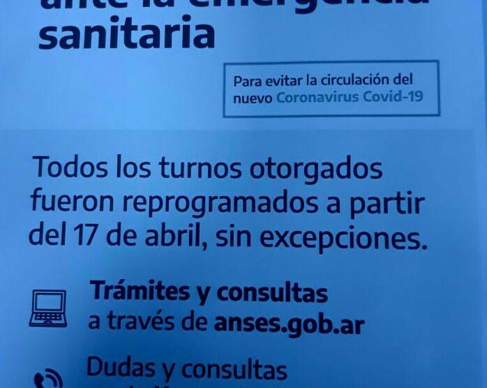MEDIDA EXTREMA: Anses Tucumán decidió cerrar sus puertas ante la emergencia sanitaria