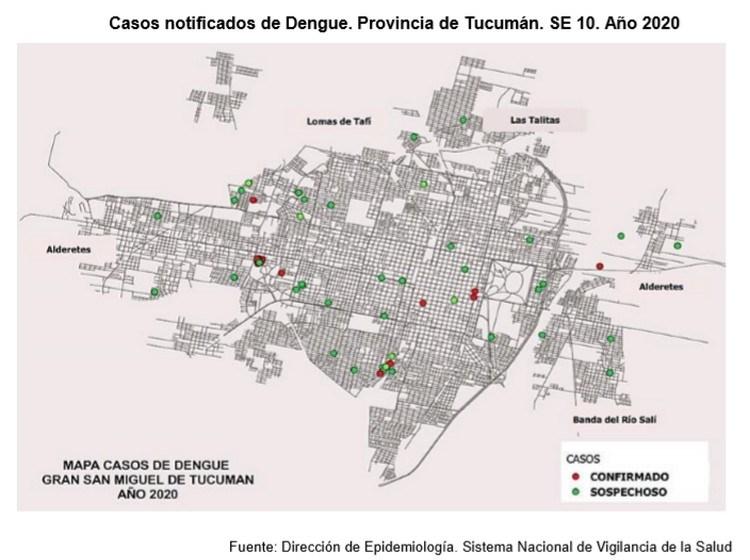 A TOMAR PRECAUCIONES: Ya son 33 los casos de dengue en Tucumán