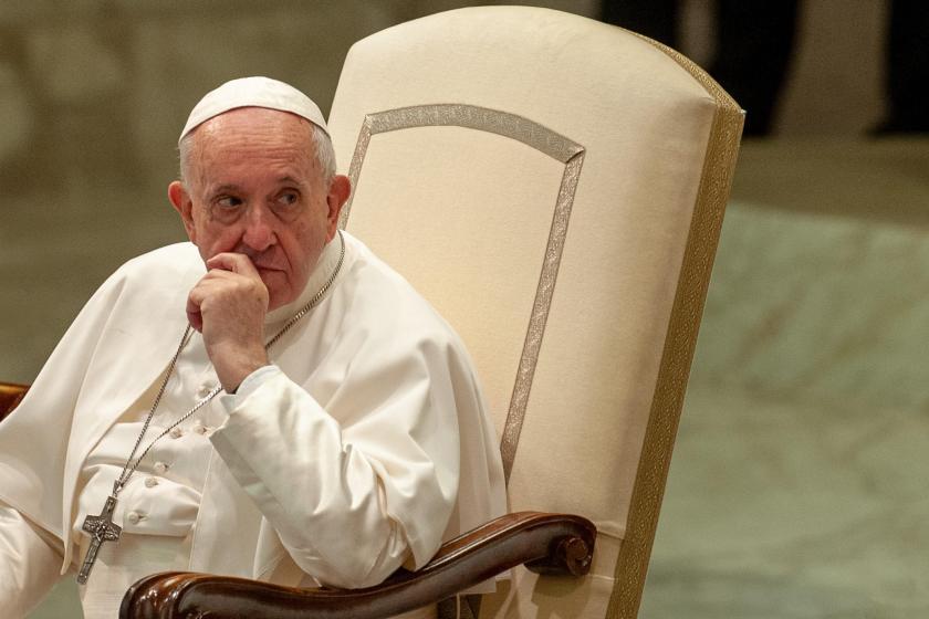 Coronavirus precauciones extremas: el Papa dará misa por video