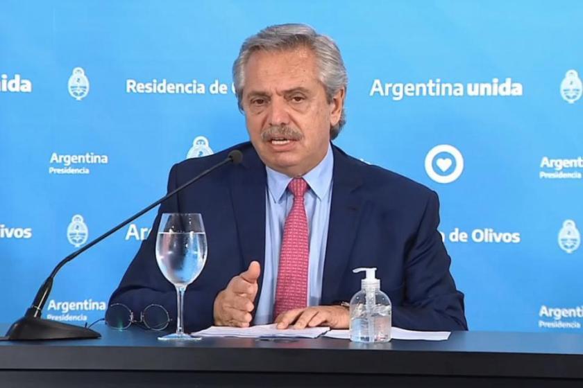 El presidente Alberto Fernández anuncia la extensión de la cuarentena total en conferencia de prensa(EN VIVO)