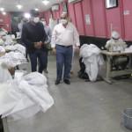 Tucuman: En los talleres del SIPROSA se están produciendo 1400 barbijos por día y 400 colchones sanitarios semanales