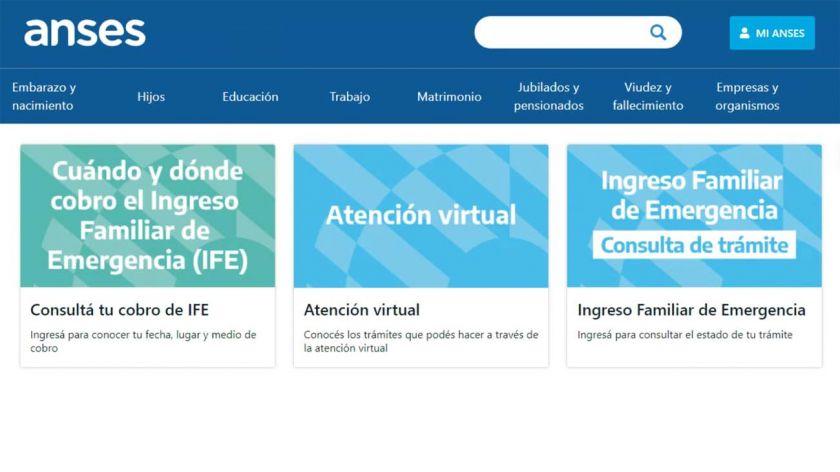 BONO DE  $ 10.000.- : Ahora se puede consultar online fecha y lugar de cobro del Ingreso Familiar de Emergencia