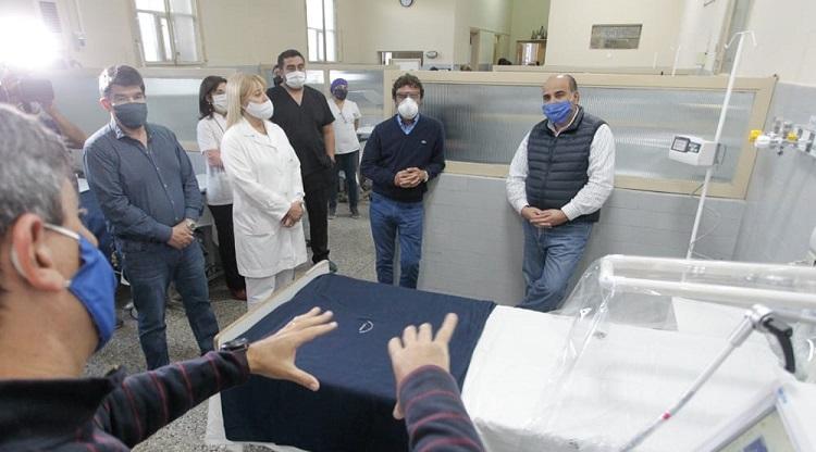 El gobierno Equipo con tecnología de punta al Hospital de Concepción