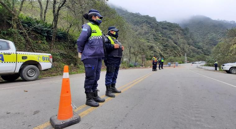 El gobierno provincial retoma el control de la ruta 307