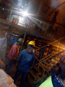 Explotó una cañeria de vapor en el Ingenio Aguilares , hay heridos (VIDEO)
