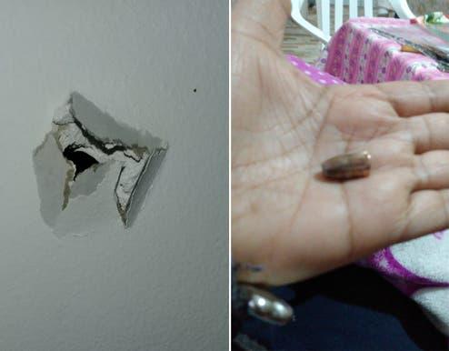 Inseguridad: una mujer dormía en su casa de Ciudadela y una bala 9 mm entró por el techo y le pegó en la cabeza