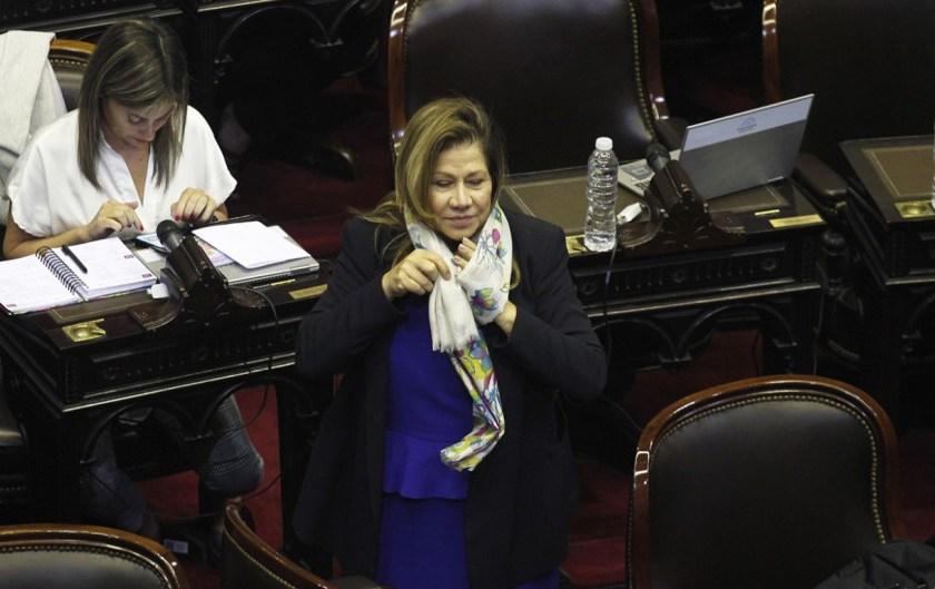 La diputada Camaño impulsa una ley para derogar el blanqueo de familiares de funcionarios que permitió Macri