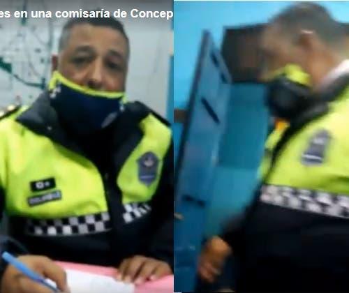 Policías le dan una brutal paliza a un abogado en la comisaria de Concepción (VIDEO)