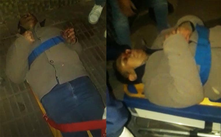 Motochorros  le pegaron un tiro en el tobillo a un hombre para robarle el celular (VIDEO)
