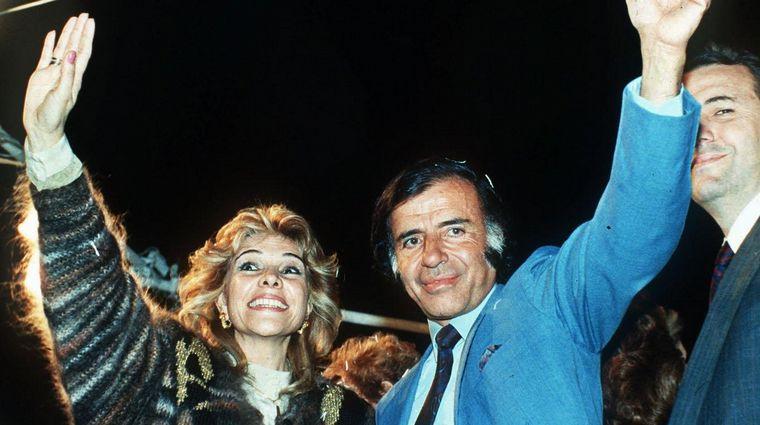 Tras estar 20 años divorciados: Carlos Menem y Zulema Yoma se vuelven a casar