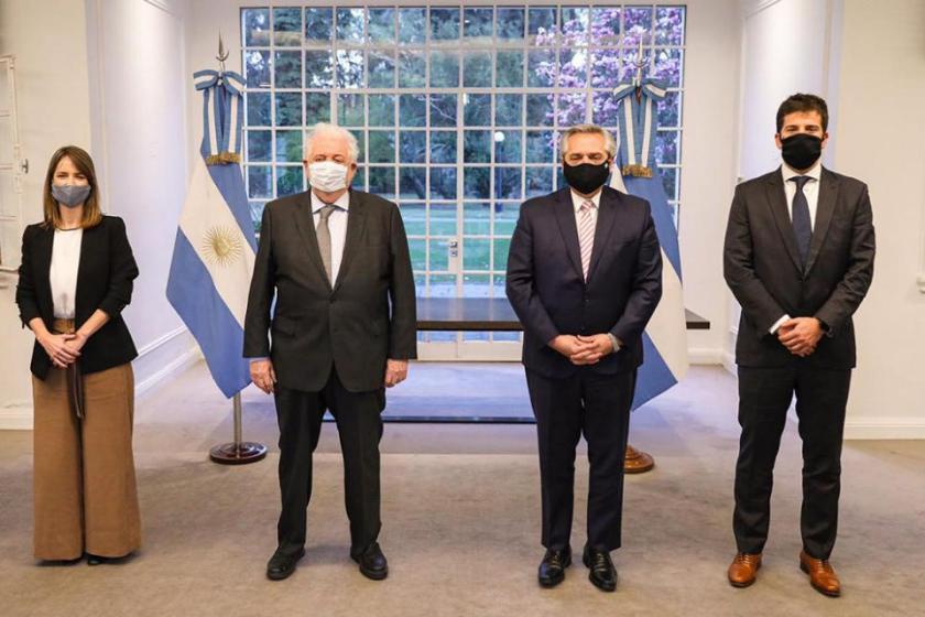 El presidente Alberto Fernández anunció que la Argentina producirá una vacuna contra el coronavirus