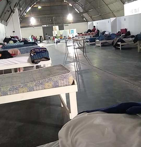 """"""" Coronavirus en Tucuman"""": Denuncian condiciones deplorables en el centro de aislamiento instalado en la rural (GALERIA DE FOTOS)"""