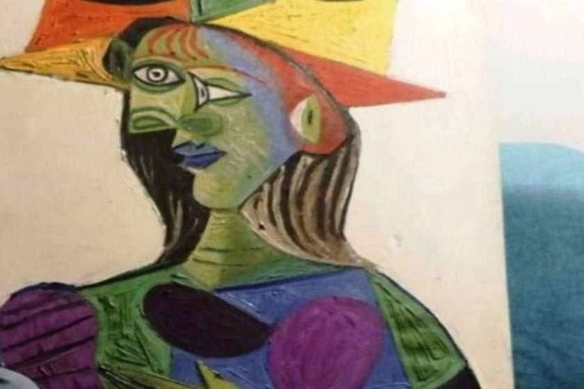 Preso por dañar un cuadro de Pablo Picasso
