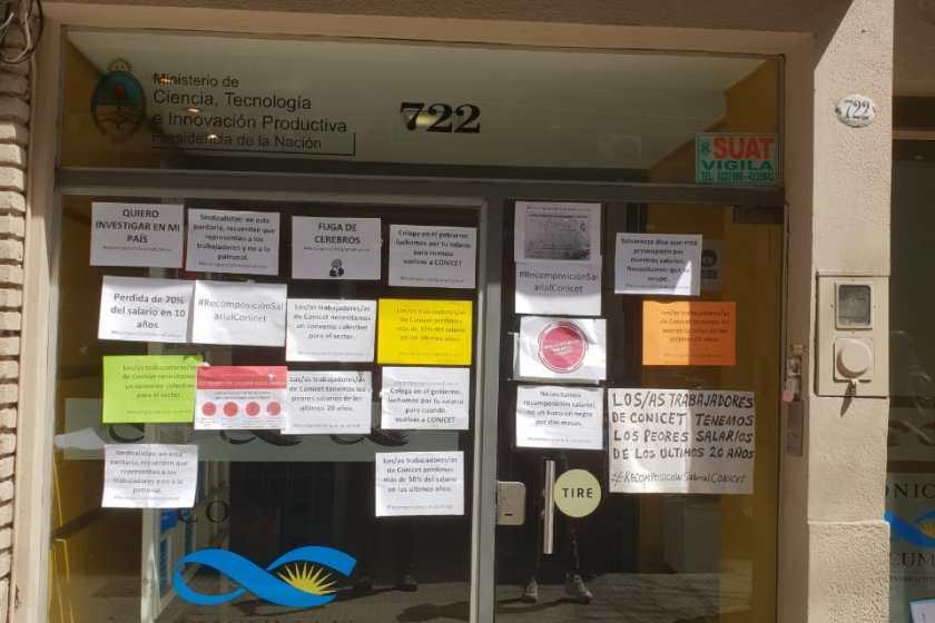 CONICET: Paro de 48hs y Jornada Federal de Protesta
