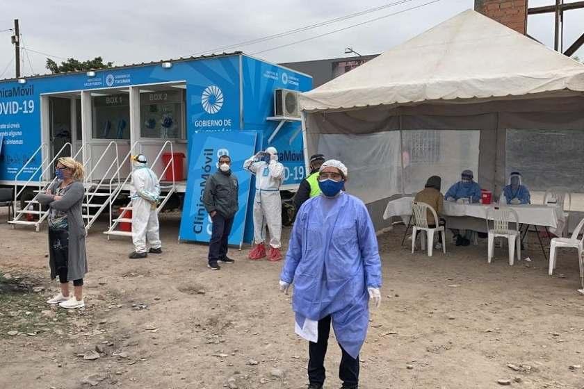 """""""CORONAVIRUS EN TUCUMAN"""": Este lunes hubo 9 muertos y 577  nuevos casos"""