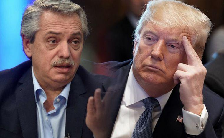 """El presidente Fernández le deseó una """"pronta recuperación"""" a Trump"""