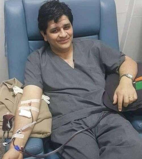 Enorme pesar por la muerte por Covid-19 del técnico en Hemoterapia Hugo Bulacio