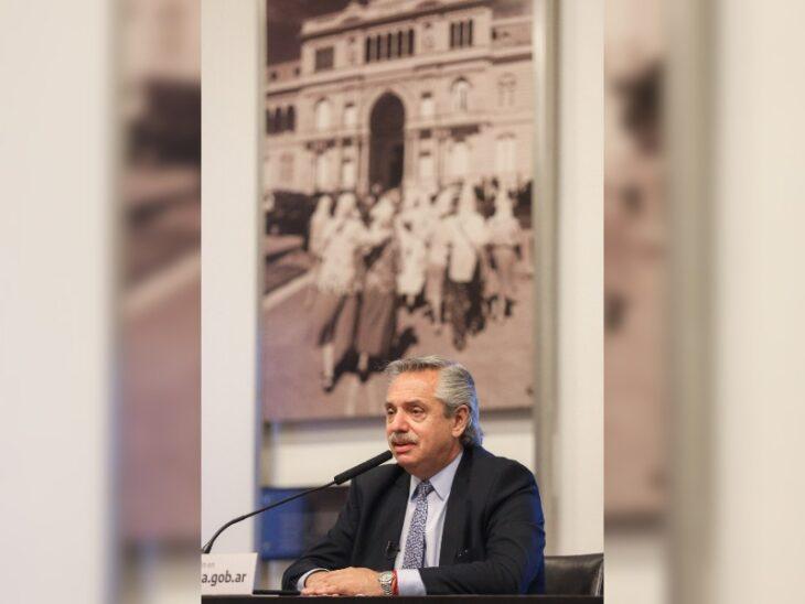 """El presidente Fernández criticó al gobierno de Macri:  """"Con todo para hacer, nada hicieron"""""""