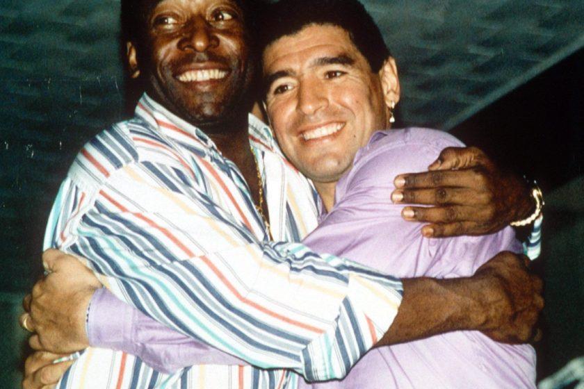 La emotiva despedida de Pelé a Maradona