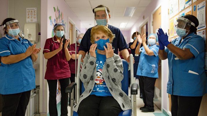 Reino Unido : Comenzo la vacunación contra el coronavirus