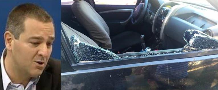 Motochorros atacaron al ex-legilslador  Colombres Garmendia en un semáforo y le robaron dinero de su camioneta