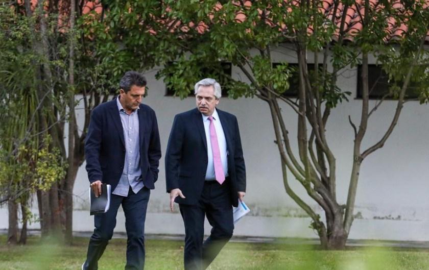 El presidente Fernandez da por terminado el debate sobre los indultos y amnistías tras las declaraciones de Massa