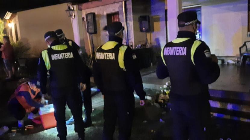 La policia desalojo multitudinarias fiestas en Tafí del Valle