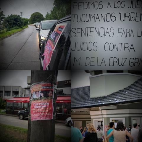 La Caravana de los damnificados por la Empresa Grandi se hizo sentir en Tucumán(VIDEO)