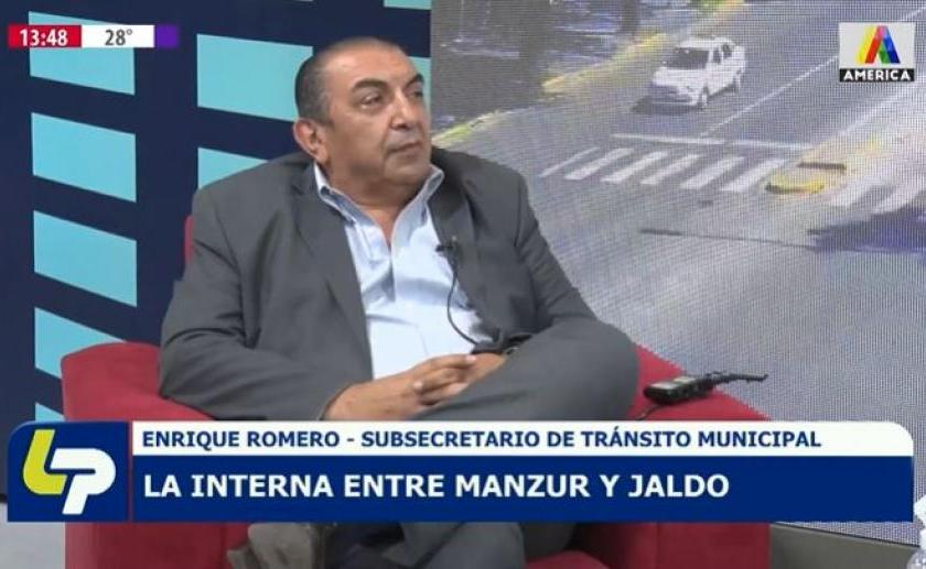""""""" Enrique Romero, mas polémico que nunca"""": Deiana es un prestamista , Bussi fuma marihuana y lo hace de manera pública, y Jaldo esta siendo manejado"""