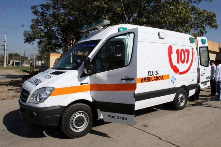 Tucuman: Fallecio una mujer intubada en la ambulancia cuando la traían de Aguilares por falta de camas