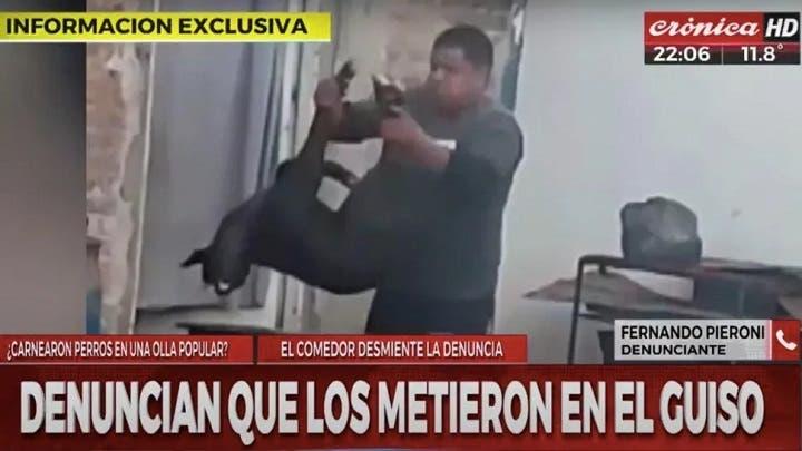 Buenos Aires: Denuncian que carnearon algunos perros para el guiso de una olla popular(video)
