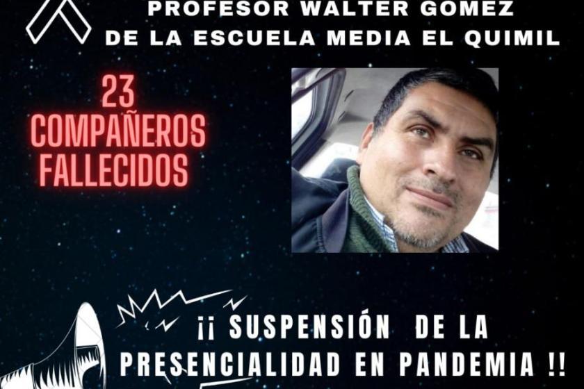 Fallecio otro profesor por CORONAVIRUS y ya suman 23 los docentes fallecidos en Tucumán