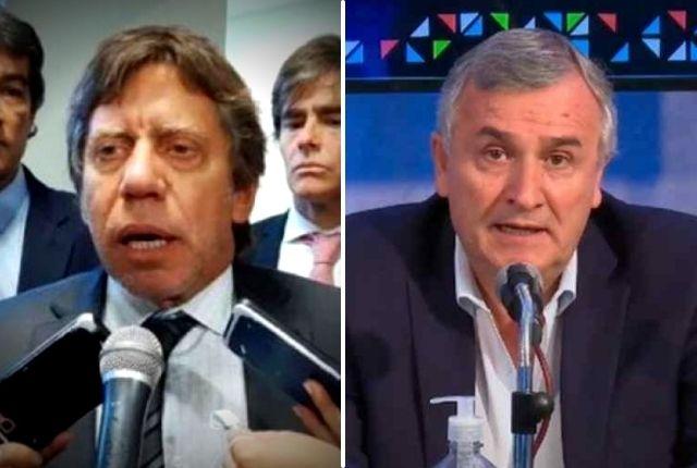 """Ricardo Bussi """"enojado"""" atacó a Gerardo Morales"""
