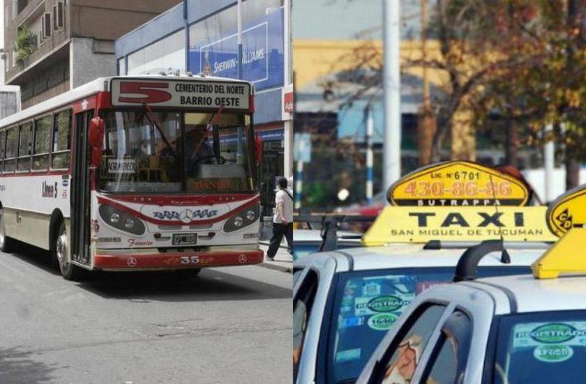 TARIFAZO: Desde el viernes aumenta el boleto urbano y los taxis