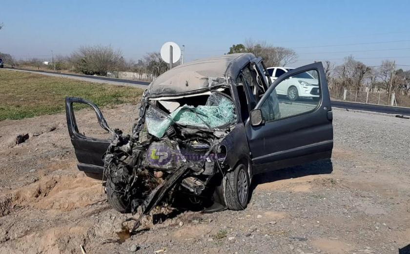 La policía busca intensamente al camión que provocó el accidente fatal en Ruta 9