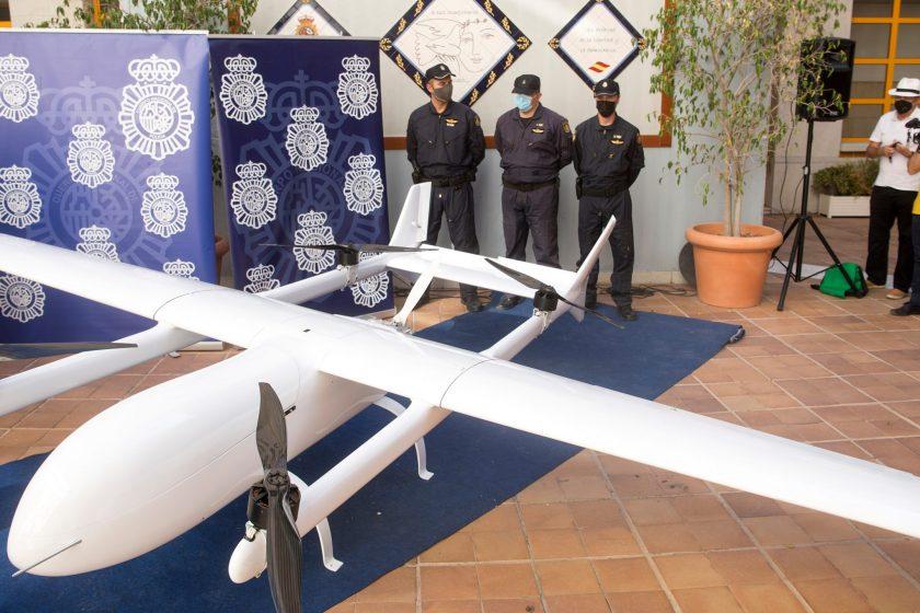 Secuestran un narcodrone  que atravesaba el Mediterráneo llevando hasta 150 kilos de droga de África a Europa