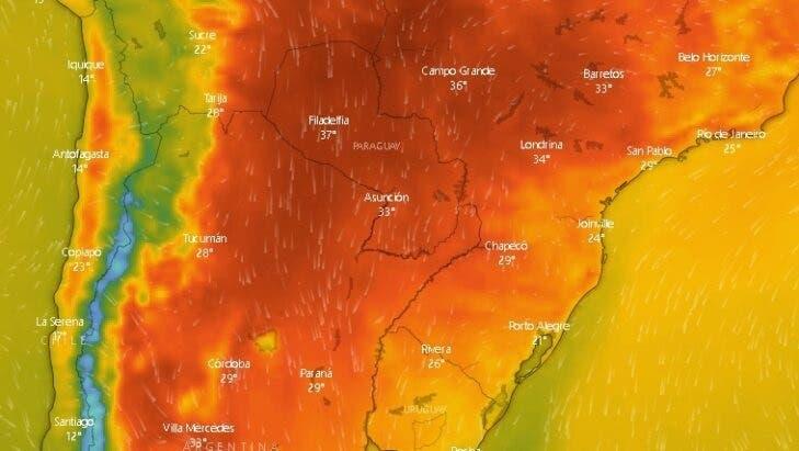 Una ola de calor llegará a Tucumán con temperaturas de hasta 34°