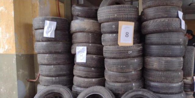 TUCUMAN: Secuestran 100 ruedas, 300 llantas y 600 cubiertas por robos a vehículos en la vía pública