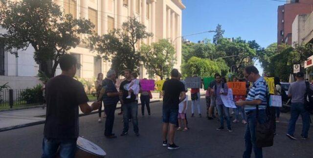 MEGAESTAFA: Adjudicatarios del barrio Judicial volvieron a reclamar frente a tribunales
