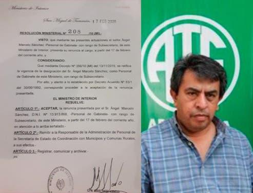 CORRUPCION EN TUCUMAN: Marcelo Sánchez a juicio por tener dos empleos en el Estado, debera devolver millones cobrados indebidamente