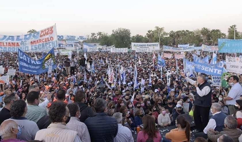 """Osvaldo Jaldo: """"Vamos a dignificar a los trabajadores de la salud, de la seguridad y de la educación"""""""