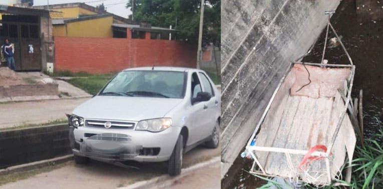 Villa Carmela: Un joven fue atropellado por un auto y murió