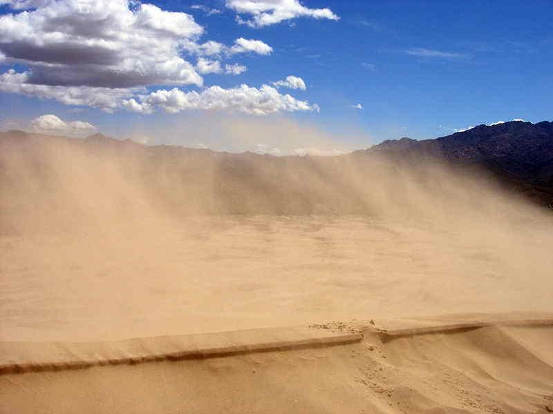 Sueños con vientos de arena