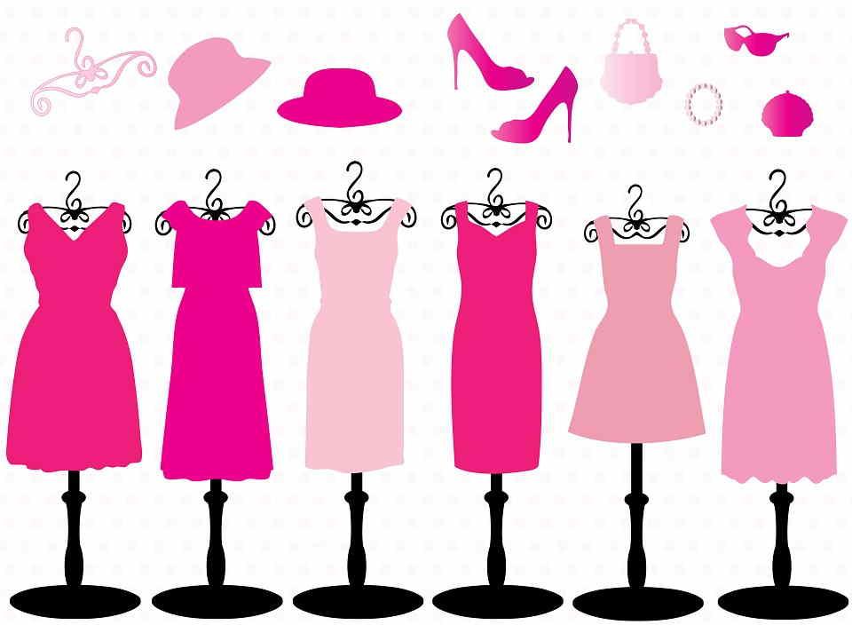 sueños con vestidos de colores