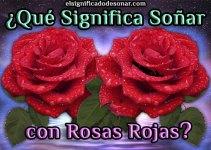 Qué Significa Soñar con Rosas Rojas?